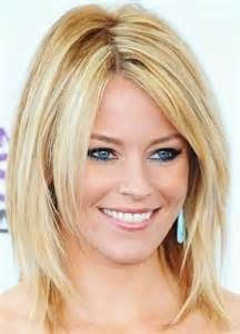 medium length haircut for fine straight hair round face - Bing Images