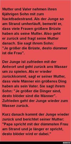 Mutter und Vater nehmen ihren 6jährigen Sohn mit.. | DEBESTE.de, Lustige Bilder, Sprüche, Witze und Videos