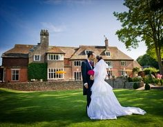 A great wedding venue location for outdoor ceremonies on a hot summer afternoon.