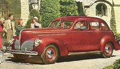 1940 Studebaker President Four Door Cruising Sedan