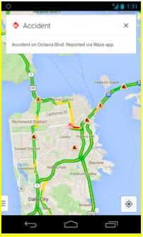 Google and Waze start mixing their maps for first time   The Wall Street Journal 8/20