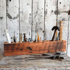 Desk Caddy Organizer by Peg and Awl - let's get to work!