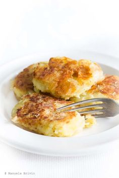 Tortini di patate, formaggio e timo