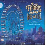 Read the book, create your own Ferris wheel and talk about the physics of amusement park rides.