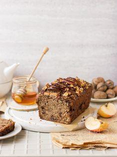 Chlebek jabłkowo-cukiniowy z oliwą (bez cukru) / Chilli, Czosnek i Oliwa