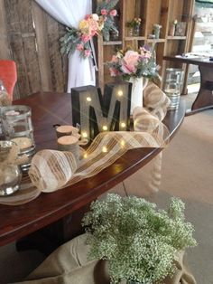 SWEETHEART TABLE, CONGRATULATIONS MR AND MRS MILLS