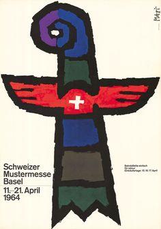 Celestino Piatti, Schweizer Mustermesse Basel, 1964