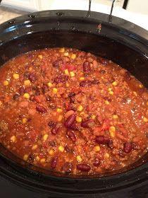 RecipeCarr: Crock Pot Chili