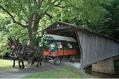 The annual Virginia Covered Bridge Festival will be hosted in Woolwine, Virginia between Jacks Creek and Bob White Covered Bridges. In 2007 Patrick County was named the official state location for the Virginia Covered Bridge Festival.