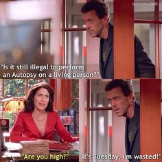 House Md Funny, House And Wilson, House Md Quotes, Sean Leonard, Everybody Lies, Gregory House, Red Band Society, How High Are You, Grey Anatomy Quotes