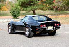 1973 chevrolet corvette 1 of 20 special ordered in Tuxedo Black paint