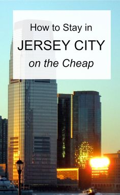 If you're having trouble finding an affordable hotel room in Jersey City, then you're not alone. Jersey City attracts tourists looking for a cheap alternative to pricey Manhattan, plus many business travelers, and all this competition can make hotel rooms hard to find and sometimes expensive.