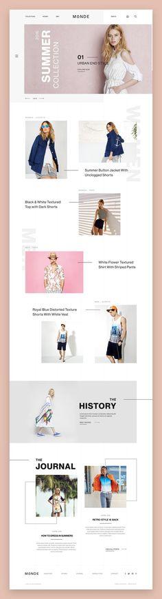 Monde Web Design | Fivestar Branding – Design and Branding Agency & Inspiration Gallery