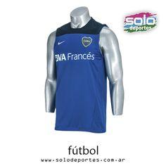 Remera Sin Mangas Boca Training Azul Francia/Azul Marino/Blanco  Marca: Nike 510020545068494   $ 389,00 (U$S 58,93)