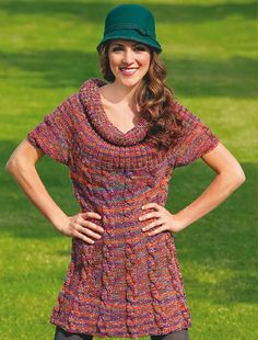 Ravelry: Cabled Tunic pattern by Michelle Brennan