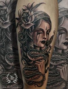 NeoTraditional Tattoo by: Prima #MaTattooBali #NeoTraditionalTattoo #SnakeTattoo #BaliTattooShop #BaliTattooParlor #BaliTattooStudio #BaliBestTattooArtist #BaliBestTattooShop #BestTattooArtist #BaliBestTattoo #BaliTattoo #BaliTattooArts #BaliBodyArts #BaliArts #BalineseArts #TattooinBali #TattooShop #TattooParlor #TattooInk #TattooMaster #InkMaster #AwardWinningArtist #Piercing #Tattoo #Tattoos #Tattooed #Tatts #TattooDesign #BaliTattooDesign #Ink #Inked #InkedGirl #Inkedmag #BestTattoo… Ma Tattoo, Snake Tattoo, Piercing Tattoo, Tattoo Shop, Tattoo Studio, Tattoo Master, Ink Master, Tattoos For Guys, Tattoos For Women