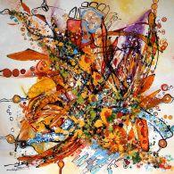 Canvas, Flowers, Painting, Art, Tela, Art Background, Painting Art, Kunst, Canvases