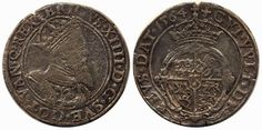 Sweden, Erik XIV SM 24 1 mark 1564 10,72 g. Stampsprickor, korroderad. 1  Dealer AB Philea  Auction Starting Price: 5000.00SEK (app. 562 EU...