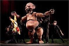 meat & potato: Admiration for puppet opera