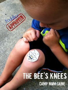 Toddler Approved!: The Bee's Knees: Camp Mom Game #readforgood