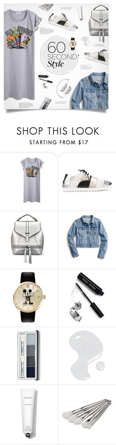 """""""60 seconds style..."""" by smajlovicelvira ❤ liked on Polyvore featuring Marsèll, J.Crew, Bobbi Brown Cosmetics, Clinique, Illamasqua, Rodin Olio Lusso, tshirtdresses and 60secondstyle"""