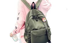 Discount Up to 50% Menghuo Badge Women backpack Ribbons School Bags For  Teenagers Girls Fashion 92c7b81b19f99