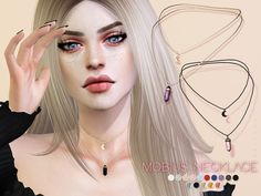 4 CC& - The Best: Mobius Necklace by Pralinesims Sims 4 CC's - The Best: Mobius Necklace by Pralinesims - -Sims 4 CC's - The Best: Mobius Necklace by Pralinesims - - The Sims Resource: Arctus Choker by Pralinesims The Sims 4 Pc, Sims Four, Sims 4 Mm, My Sims, The Sims Source, Sims 4 Piercings, The Sims 4 Cabelos, Pelo Sims, Sims 4 Cc Makeup