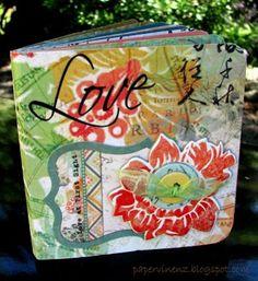 Folded Paper Mini Albums (Tutorial)   PaperVine