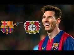 Crazy match Barcelona - Bayer  2012 (7-1)  1080 HD