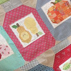 Happiness is Homemade blocks from my Farm Girl Vintage Workshops...PDF coming soon
