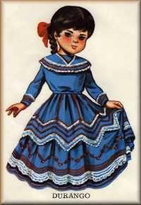 Muñeca tipica de Durango