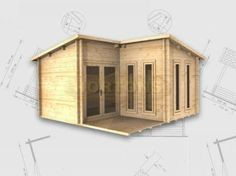 L shaped shed outdoor plans pinterest shapes for L shaped shed designs