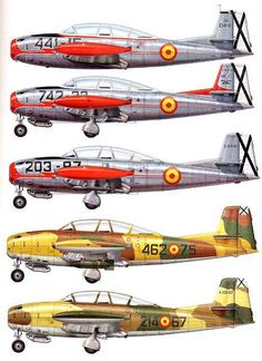 Yoryi (puntocom) - Modelismo y Maquetas - Super Saeta. Special Hobbie 1/72 (Proximamente) - Aviación Post-WWII Military Jets, Military Aircraft, Luftwaffe, Spanish Air Force, Aircraft Painting, Airplane Art, Ww2 Aircraft, Aviation Art, Paint Schemes