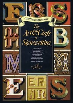 58 best sign painting books images on pinterest sign painting vintage sign writing malvernweather Image collections