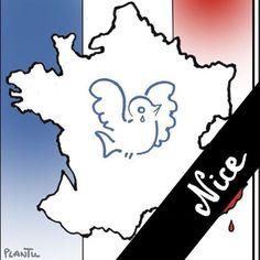 Pin for Later: Le Monde Rend Hommage aux Victimes des Attentats de Nice Karine Ferri