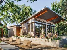 7 Prefab Home Designs We Love via @MyDomaineAU