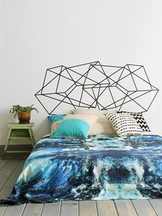 DIY Design: Easy Headboard Replacement Ideas to Try   Apartment Therapy