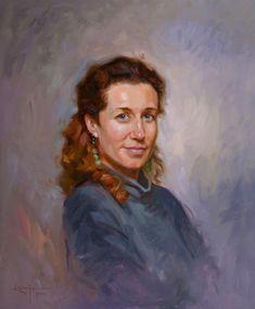 Ben Lustenhouwer is a professional portrait artist.Portrait - Clara