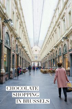 Where to find the Best Chocolate in Brussels, Belgium.