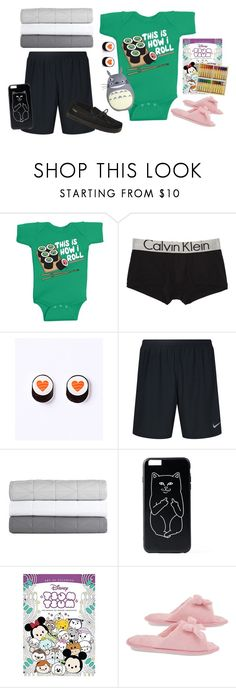 """~ In Desperate Need Of Cuddles ~"" by lildinokitten ❤ liked on Polyvore featuring Calvin Klein Underwear, NIKE, Design Within Reach, Disney, Deluxe Comfort, Bearpaw, daddy, ddlg and littlespace"