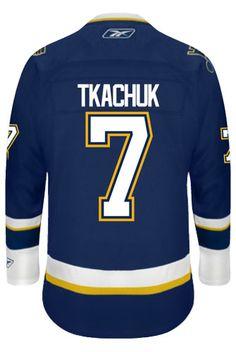 abcce66b5f1 St. Louis Blues VINTAGE Keith TKACHUK  7 Official Third Reebok Premier  Replica A CoolHockey. Keith TkachukNhl Hockey JerseysSt ...
