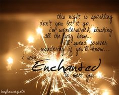 Enchanted- Taylor Swift