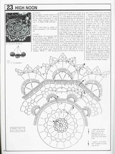 High Noon doily