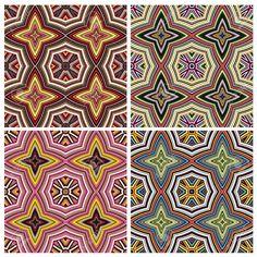 Дизайн Искусство из Кении Современные бесшовные модели вектор в яркие цвета, полученных из Восточной Африки духовных символов Клипарты, векторы, и Набор Иллюстраций Без Оплаты Отчислений. Image 24750332.