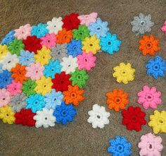 How To Make a Popcorn Flower Crochet