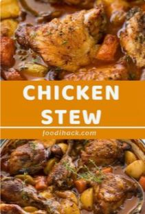 Find and share everyday cooking inspiration from Foodihack. Delicious food around the world, and all the trending content you'll want to share Slow Cooker Chicken Stew, Slow Cooked Chicken, Stew Chicken Recipe, Chicken Drumstick Recipes, Chicken Recipes, Easy Chicken Stew, Stewed Chicken, Crack Chicken, Slow Cooker Recipes