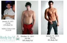 Check out Matt's amazing transformation on the Body By Vi 90 day challenge!!