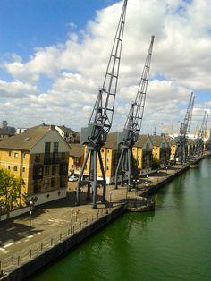 Britannia Village, Royal Docks. Places Of Interest, London City, Paris Skyline, Travel, Viajes, Destinations, Traveling, Trips