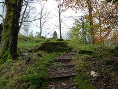 """The Fairy Hills of Strathyre.  Traditional MacLaren clan lands include the island of Tiree & Balquhidder, a parish which contains the villages of Lochearnhead and Strathyre, and is about 18 miles long and 7 miles broad spanning 54,675 acres, long known as """"Maclaren country""""."""