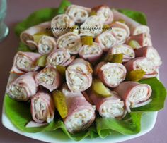 Clean Recipes, Snack Recipes, Cooking Recipes, Healthy Recipes, Polish Recipes, Party Snacks, Food Dishes, Tapas, Catering